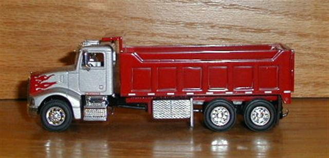Custom Toy Semi Trucks : Length with high straight sides quot long